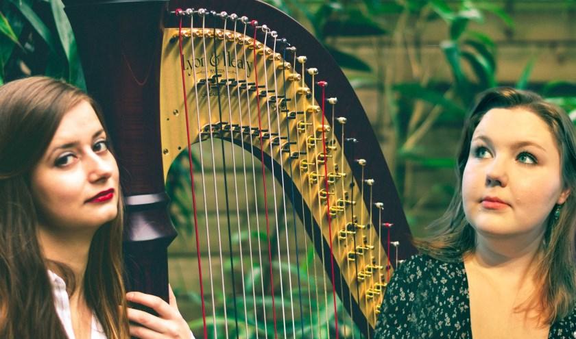 Het duo Katherina & Miranda brengt een romantisch concert naar de Bonifatiuskerk.