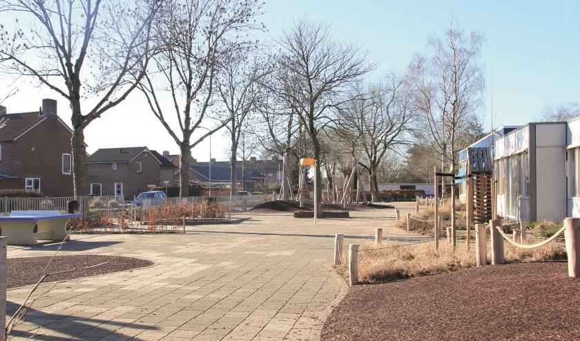 Schoolplein Joannesschool Groessen.