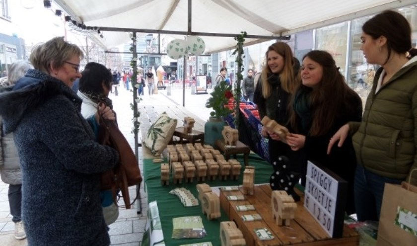 Eerdere editie van de Marktdag van Jong Ondernemen in Utrecht.  Foto: Jong Ondernemen
