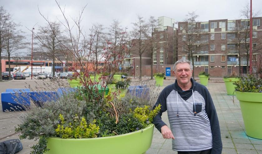 Hans van de Hoef is de initiatiefnemer van Nieuwegein Rock. Foto: louise Mastenbroek