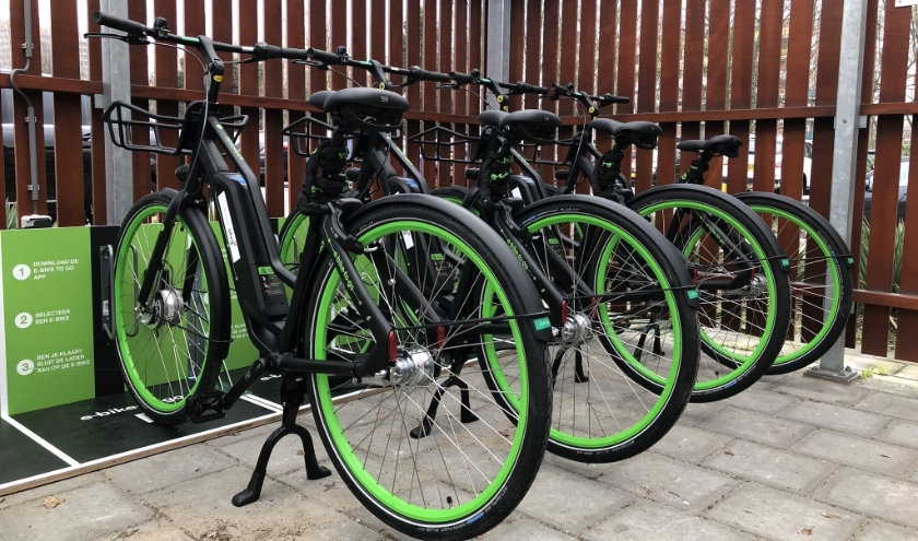 E-bike to go stelt een deel van haar vloot gratis beschikbaar voor medisch personeel van onder andere het Sint Antonius Ziekenhuis.