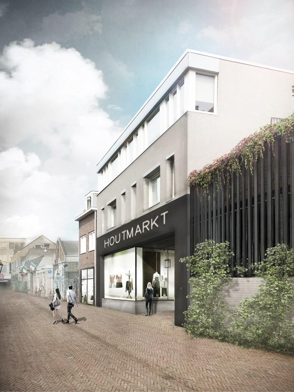 Er komt ook een derde entree, in de Akkerstraat, bij Mols-parking  © DPG Media