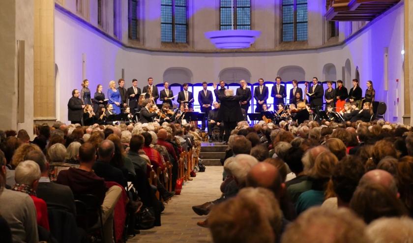 In de historische Janskerk van Utrecht worden op 14 en 29 maart en 11 april de Matthaus Passion van J.S. Bach uitgevoerd. Foto: PR