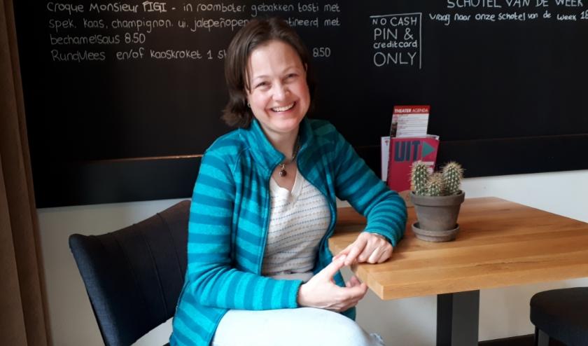 Charlotte Verhoeve is in Zeist bekend om haar bedrijf De Moestuin Juf.