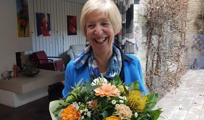 Tonja Kost neemt na 35 jaar afscheid bij Hygiëa. FOTO: Ingelies Vermeulen
