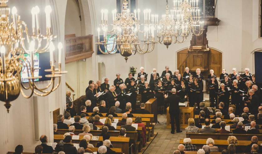Looft den Heer bestaat negentig jaar. Als altijd werken ze mee aan diverse kerkdiensten, maar dit jaar staan ook jubileumactiviteiten op het programma.
