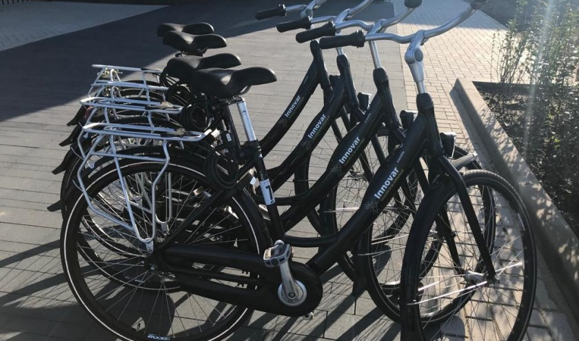 Vier prachtige Innovar fietsen.