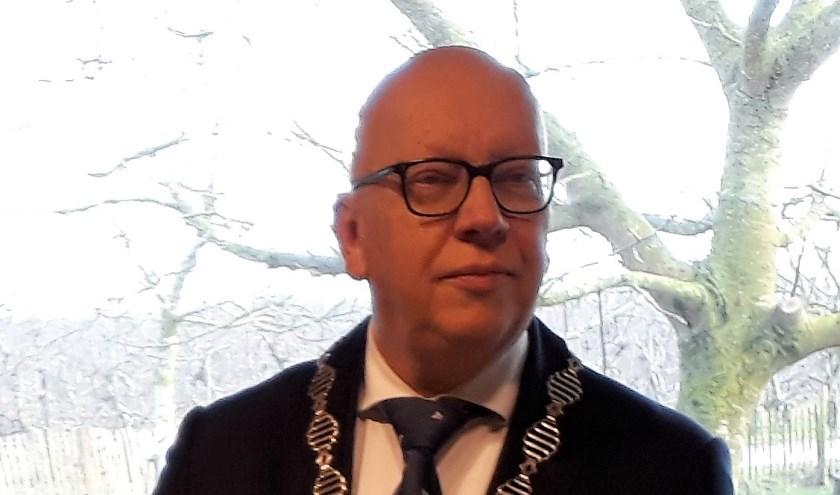 Burgemeester Wagner van Albrandswaard.