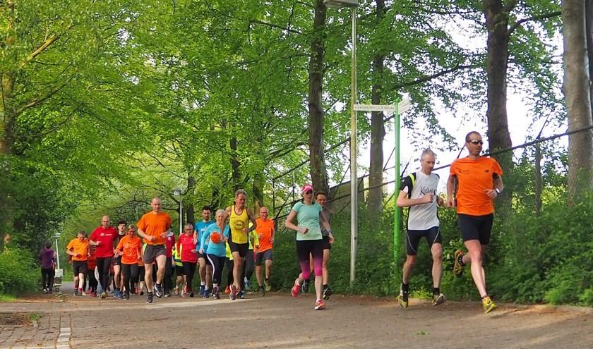 Hardloopgroep Goudse Runners.