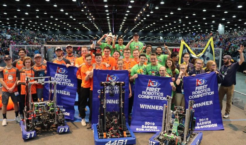 Leerlingen Heerbeeck wereldkampioen robotica