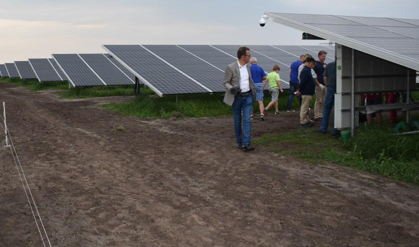 In het middagprogramma is ook ruimte voor een bezoek aan twee zonneparken. Afbeelding ter illustratie. Foto: Jolien van Gaalen.