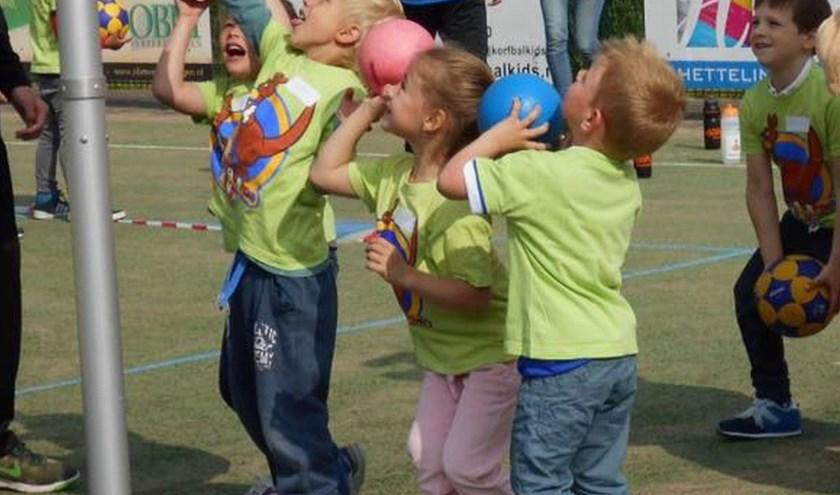 Alle groepen 1 en 2 van zeven basisscholen doen mee aan de Kangoeroedag.