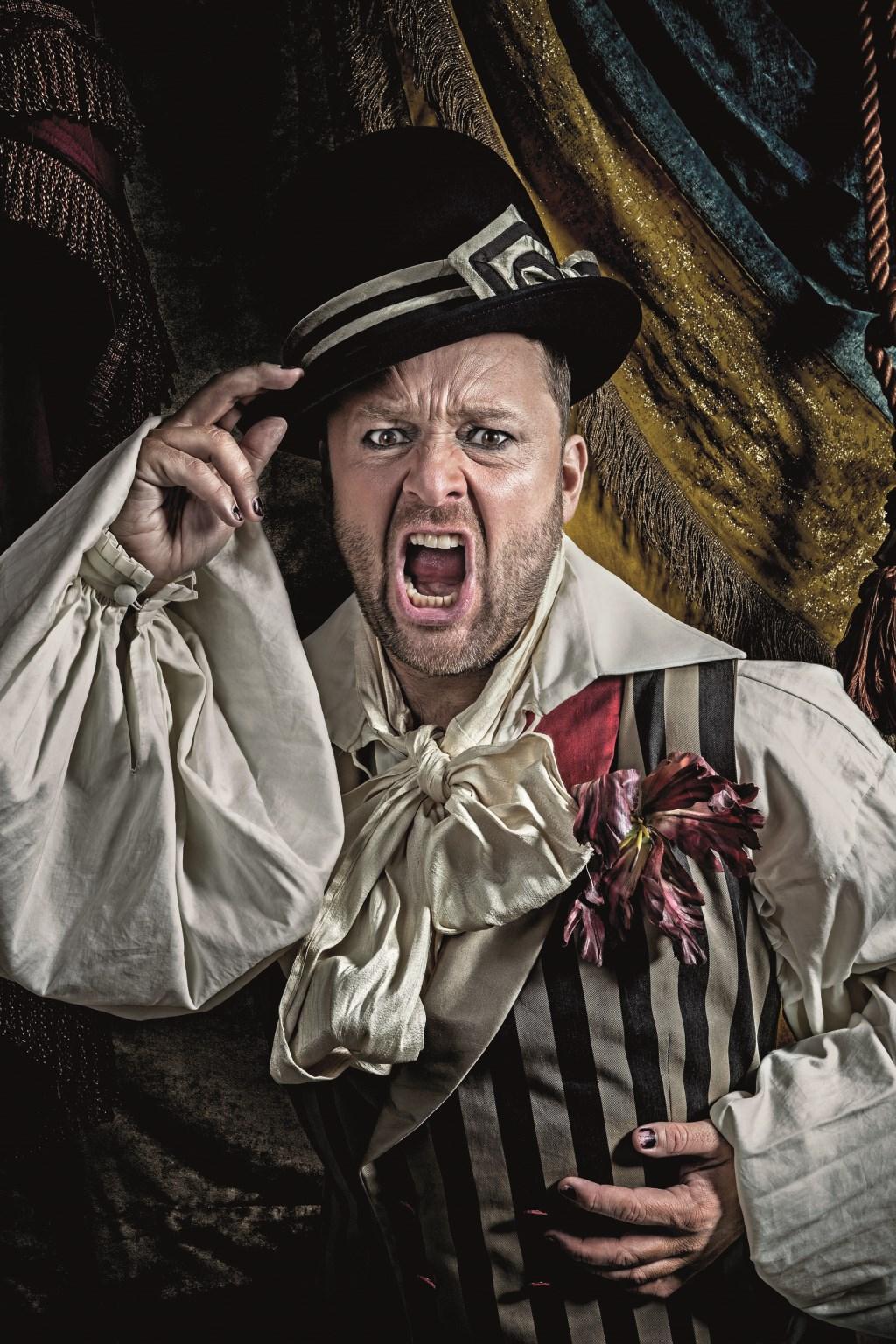Lachen, gieren, brullen om Richard Groenendijk. (foto: Dik Nicolai)  © DPG Media