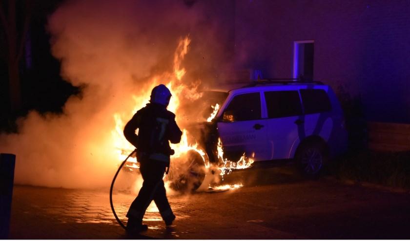 De afgelopen weken zijn al 18 auto's in vlammen opgegaan in Gouda.