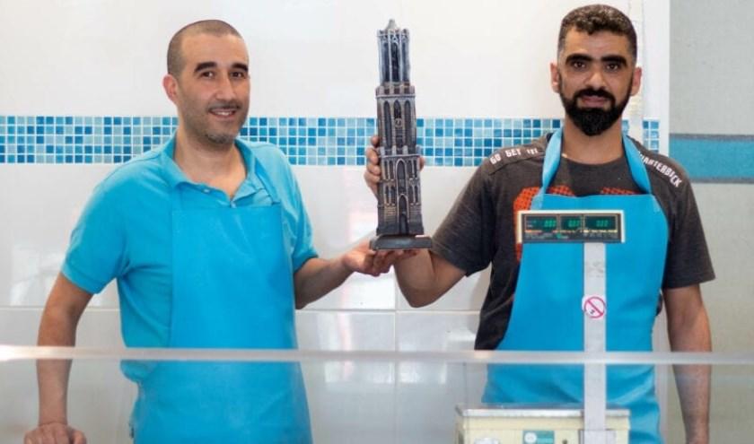 De Utrechtse Mohamad (rechts op de foto) maakt supervette beelden van Utrecht: 'Ik laat me graag inspireren door deze stad.'