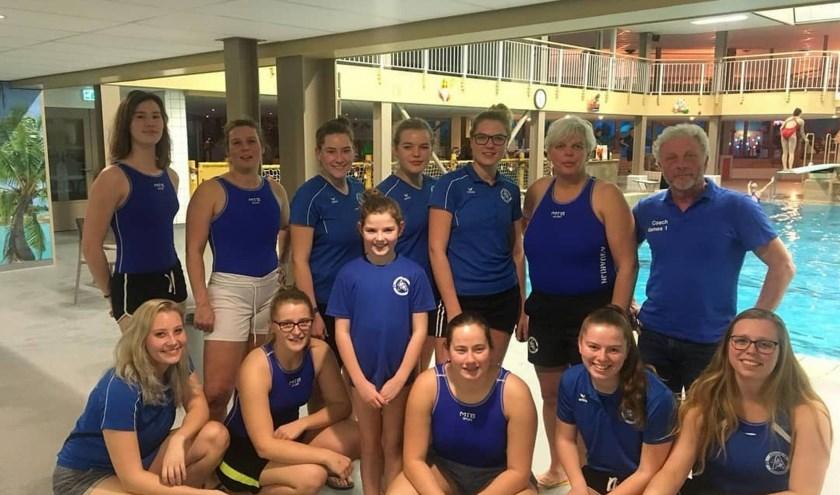 De Nieuwegeinse dames zullen hun heil het komend seizoen weer in de 1e klasse moeten zoeken.