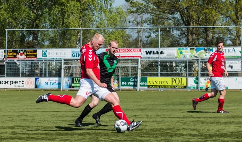 Hulshorst speelde zich in de wedstrijd tegen Zwolsche Boys veilig. (Foto: Willemien van Duinen)