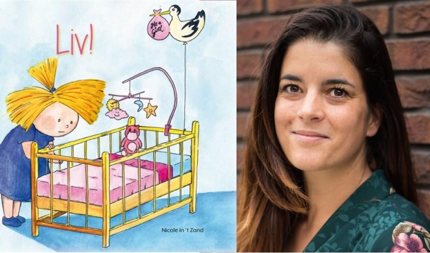 Kindercoach Nicole in 't Zand uit Goirle presenteert donderdag 2 mei het boek Liv!.