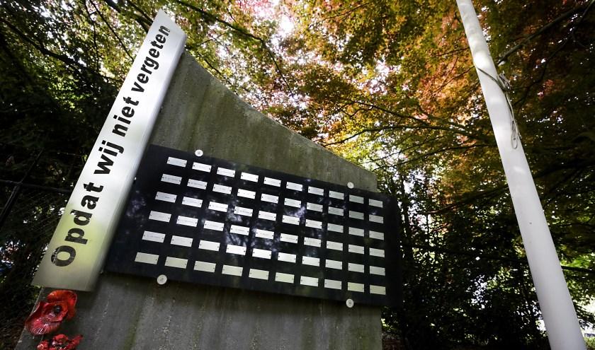 Het 10 mei-monument dat in 2014 is onthuld in Valkenswaard. Foto: Jurgen van Hoof.