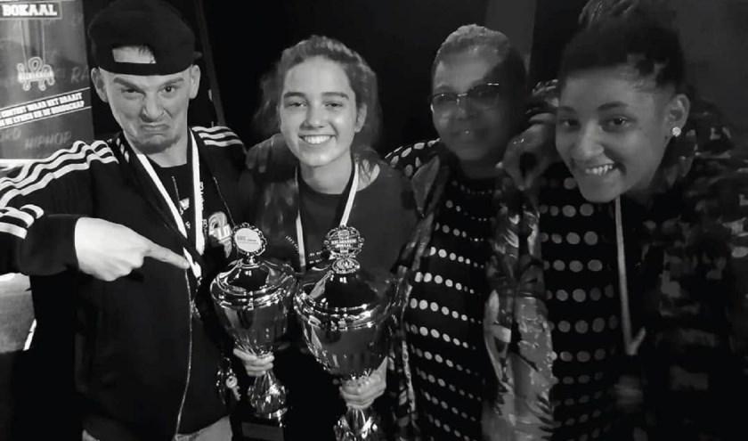 De winnaars van 2018.