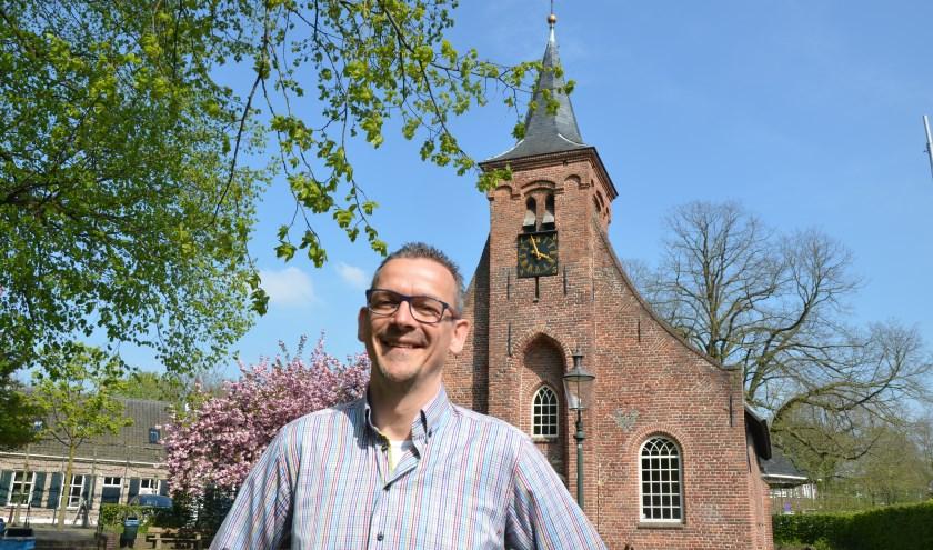 Matt Luysterburg is de nieuwe beheerder van de Hasseltse kapel. foto: Hasseltse kapel.