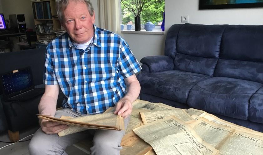 De aanleiding van Dekkers' zoekactie is zijn onbezoldigde medewerking aan de uitgave van '150 jaar leven in Eindhoven'. (Foto: DFP).