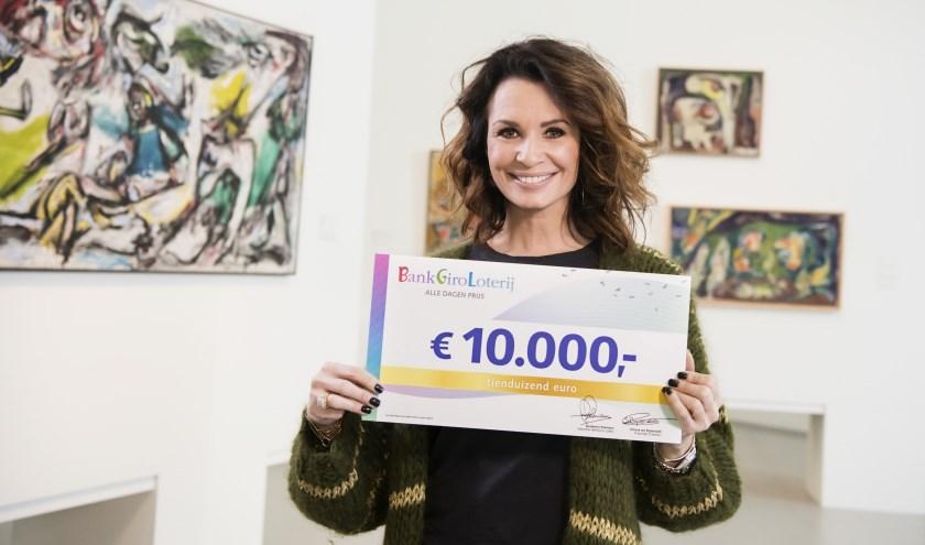Leontine Borsato, ambassadeur van de BankGiro Loterij. (Foto: Roy Beusker)