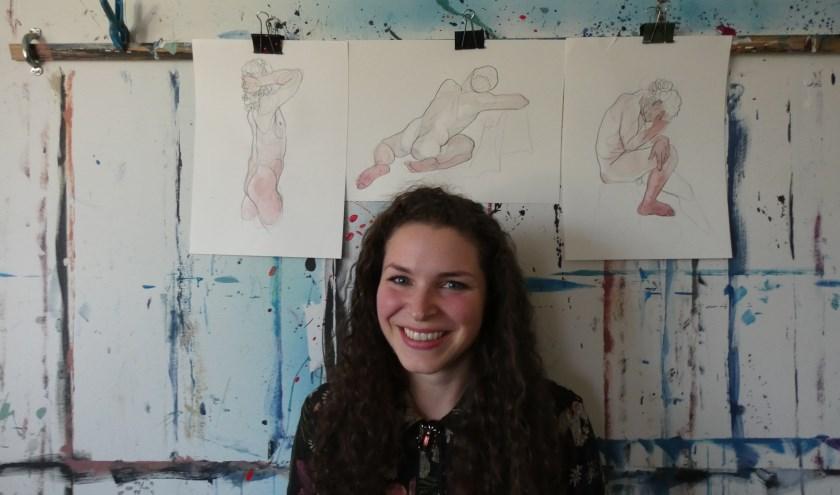 Camilla Ballotta houdt van de menselijke vormen.