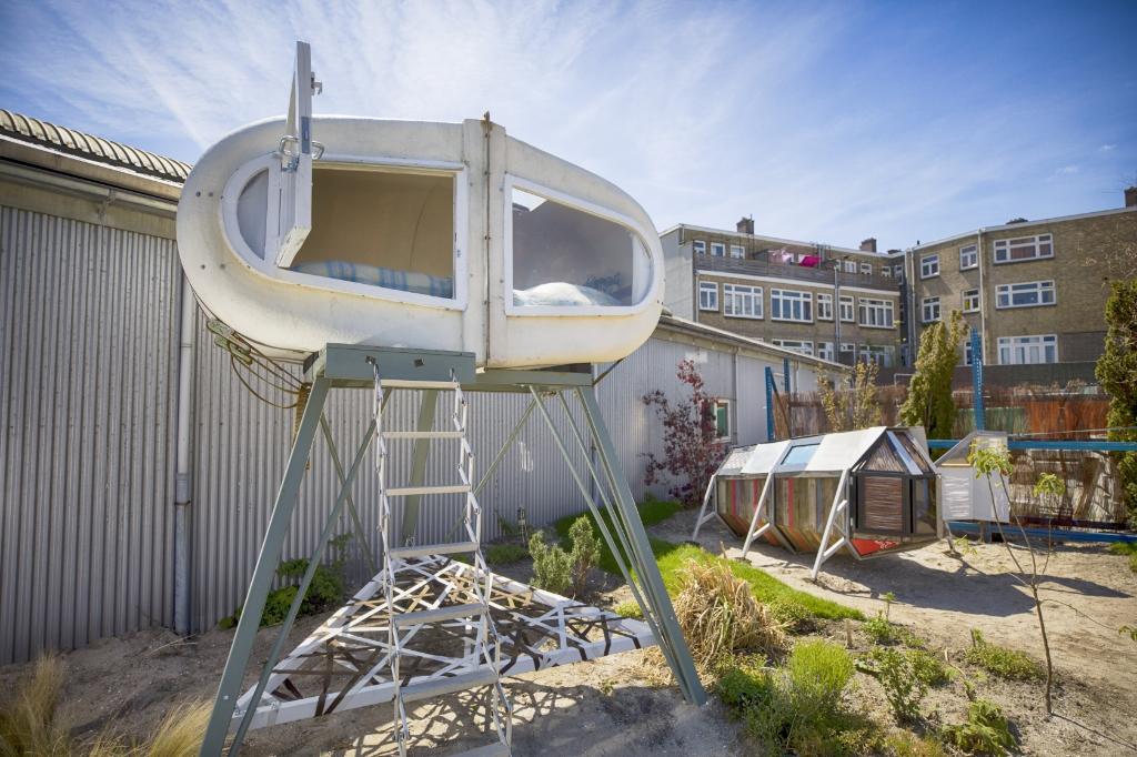 Uittip: overnachten in een kunstwerk bij Culture Campsite.  Foto: Marc Heeman © DPG Media