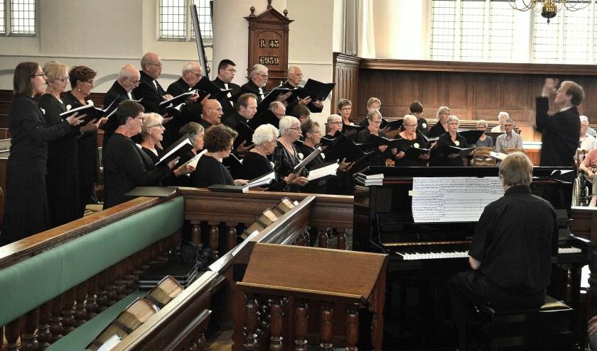 Het Christelijk Oratoriumkoor Woerden geeft een middagconcert.