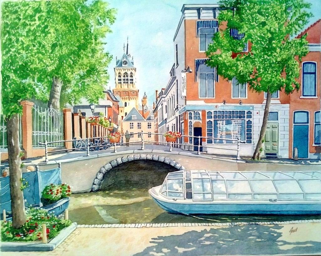 Boterbrug view from Oude Delft Foto: Antonio Teodosio © DPG Media