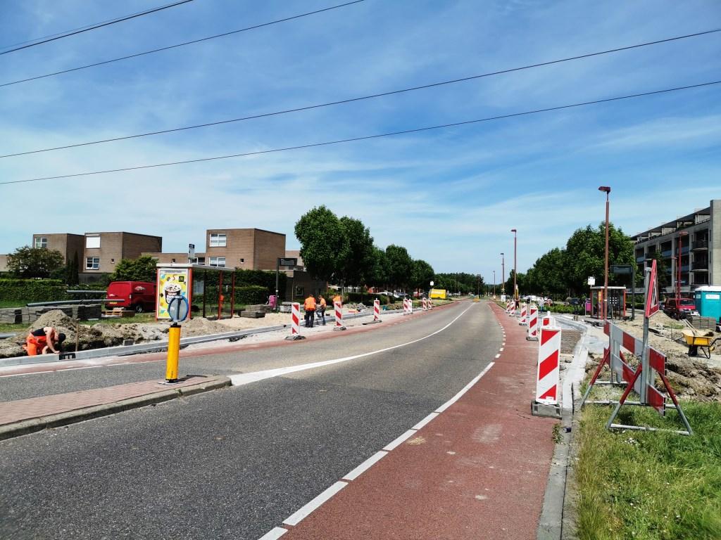 Ondanks de plannen om de halte Gebrandypark op te heffen wordt deze vernieuwd. Foto: Anne-Marije Zwart © DPG Media