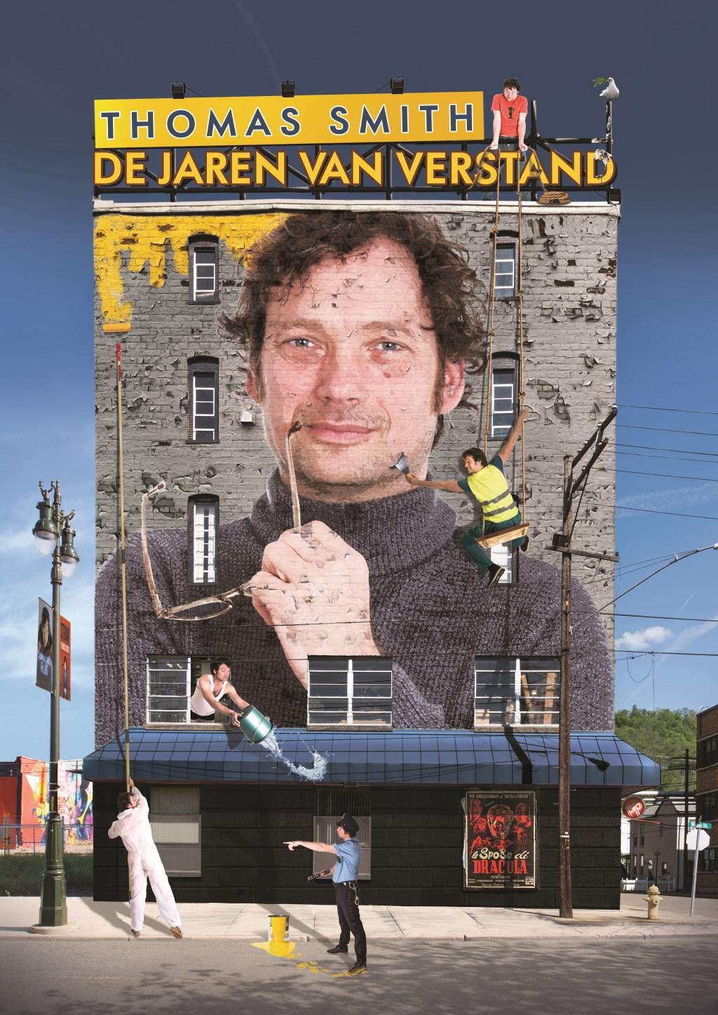 Thomas Smith, cabaretier van wereldniveau, staat op vrijdag 24 mei in De Verwachting in Ritthem.
