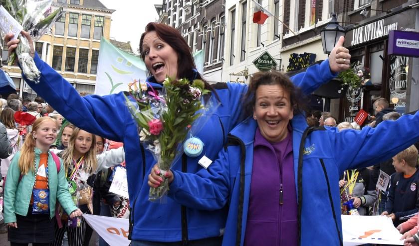 Linda Verschut en Darinca Vorster, al 15 jaar het organisatieduo van de JAVD. Foto: Marianka Peters