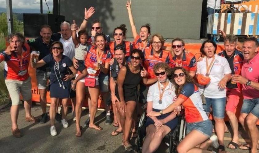 Groepsfoto van team 'Wat ALS'.