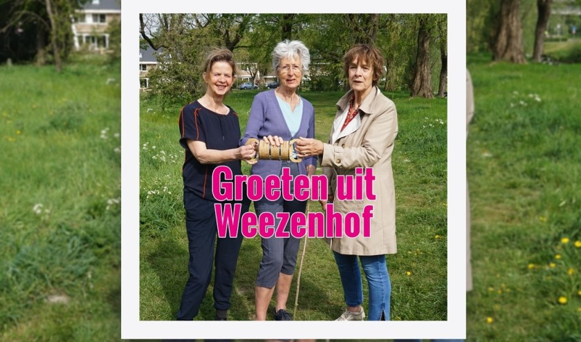Vlnr. Els Warringa, Clementine Gelauff en Hella Hogenboom. (Foto Jelle Bril)