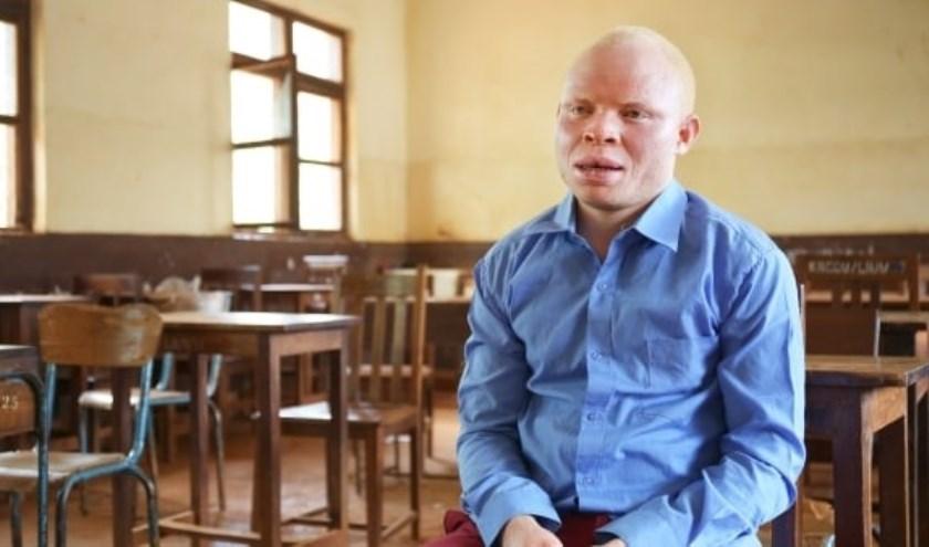 De 25-jarige Tanzaniaan bezoekt ons land op uitnodiging van Amnesty International. Foto: Amnesty International