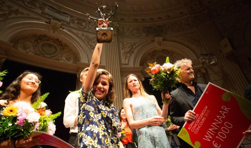 Uit acht finalisten werd Christiaan Blom unaniem tot winnaar verkozen.