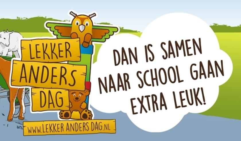 Lekker Anders Dag inspiratie, onderweg naar school valt veel te zien