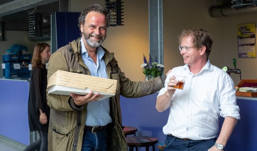 Niek Idelenburg en Dick Verhoef verzorgen onder meer de muziek van King Lear.