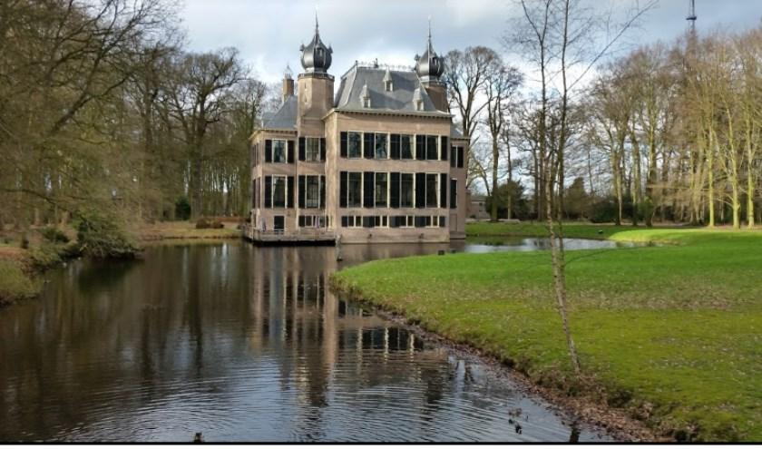 Het landgoedbos van Kasteel Oud-Poelgeest.