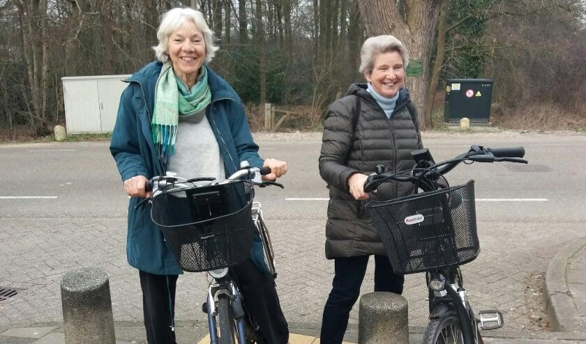 <p>Samen fietsen is altijd gezellig</p>