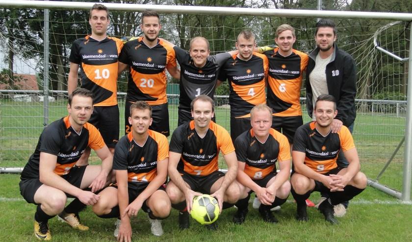 Team Bloemendaal is vorm en heeft tot nu toe als enige deelnemer alle vier wedstrijden gewonnen.