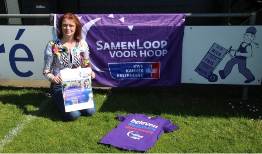 Arjen Gerritsen zal samen Gerda Boertien het startsein geven voor de SamenLoop voor Hoop.