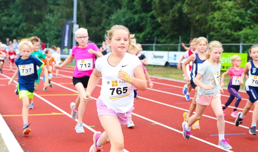 Voor de jeugd is er de bambinoloop en de 1,5 kilometer. Foto: Miranda Voortman.
