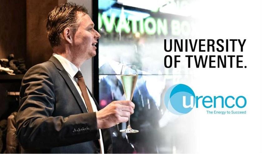 Ook Universiteit Twente en Urenco hebben zich inmiddels als strategische partners verbonden aan het innovatie-initiatief