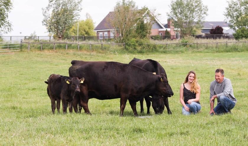 Tess en Tinus Niesing boeren op een manier die zoveel mogelijk rekening houdt met de natuur.