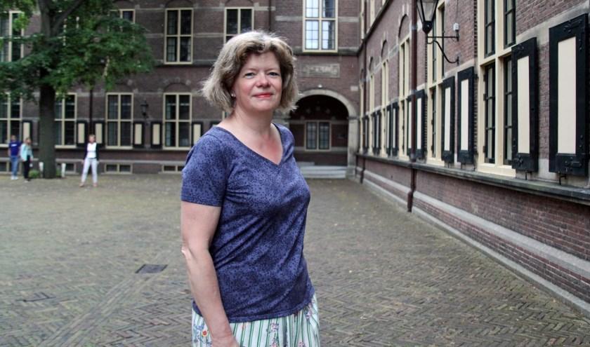 Lucy beschouwt Amman, Jordanië als haar thuis maar in Den Haag kan je echt jezelf zijn, zegt ze (Foto: Peter van Zetten).