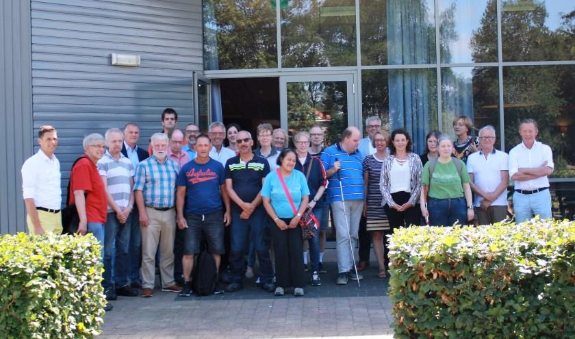 De maatjesmiddag van de Inclusief Groep is bezocht door gemeenteraadsleden, colleges van B en W en beleidsambtenaren uit o.m. Nunspeet, Elburg, Oldebroek. (Foto: Inclusief Groep)