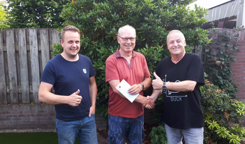 V.l.n.r. Erik Timmermans, Jan van Limpt en Mart van de Boomen.